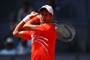 Madrid Open ngày 7: Djokovic dễ dàng hạ gục Dominic Thiem