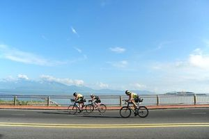 Sôi động giải đua Ironman 70.3 tại Đà Nẵng