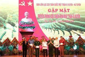 Gặp mặt truyền thống cựu chiến binh Mặt trận Vị Xuyên