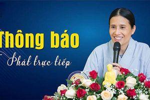 Bà Phạm Thị Yến lại đăng đàn thuyết giảng: Thách thức dư luận?