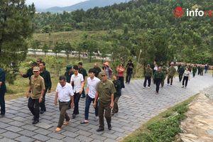 Về Vũng Chùa - Đảo Yến thăm mộ Đại tướng Võ Nguyên Giáp