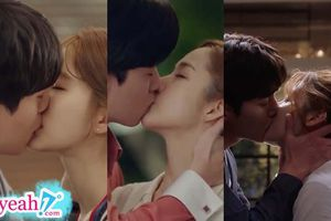 Những cảnh hôn nóng bỏng nhất trong phim Hàn Quốc khiến người xem ngượng 'chín mặt'