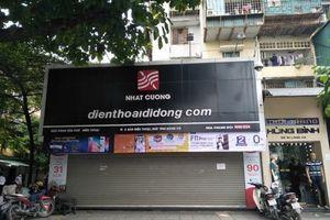 Vụ khám xét Nhật Cường Mobile: Ông chủ Bùi Quang Huy vẫn 'bặt vô âm tín', website 'biến mất'