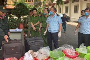 Bắt giữ vụ vận chuyển trái phép 500kg ma túy Ketamine