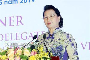 Chủ tịch Quốc hội Nguyễn Thị Kim Ngân chủ trì Tiệc chiêu đãi các đại biểu tham dự Đại lễ vesak 2019
