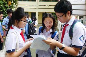 Ngày 14-5, công bố số lượng học sinh dự tuyển lớp 10