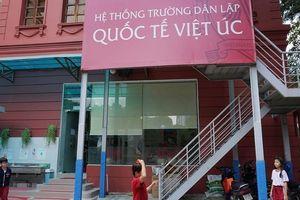 Bữa trưa của học sinh trường Quốc tế Việt Úc có dòi