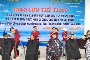 LĐLĐ tỉnh Cao Bằng tổ chức nhiều hoạt động dịp Tháng Công nhân