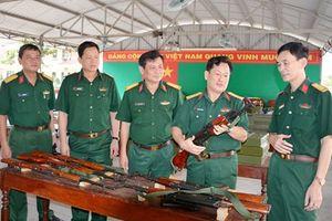 Cơ quan Thường trực Hội đồng Giáo dục Quốc phòng và An ninh Trung ương kiểm tra tại Trường Quân sự Quân khu 7