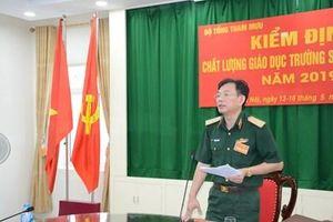 Bộ Tổng tham mưu kiểm định chất lượng giáo dục Trường Sĩ quan Pháo binh