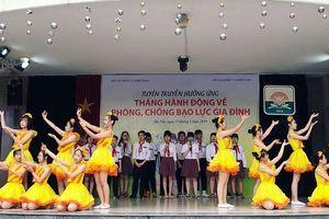 Hà Nội đưa kiến thức phòng chống bạo lực gia đình vào trường học