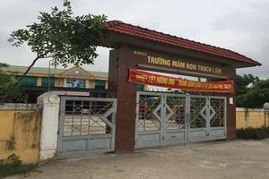 Huyện Thạch Hà - Hà Tĩnh: Nhiều nghi vấn trong công tác bán trú tại một số trường mầm non