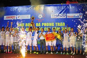 Hành trình 4 năm của Giải bóng đá các cơ quan báo chí toàn quốc - Press Cup