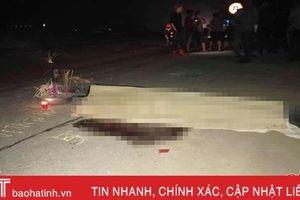 Khởi tố lái xe người ngoại tỉnh gây tai nạn chết người ở Hà Tĩnh