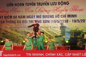 Liên hoan Tuyên truyền lưu động 'Trường Sơn - con đường huyền thoại'