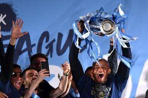 Manchester City ăn mừng chức vô địch Premier League