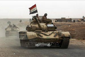 Lực lượng an ninh Iraq phá hủy 10 hang ổ của IS