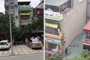 Hà Nội: Bắc thang giải cứu nhiều cháu nhỏ khỏi đám cháy trường mầm non