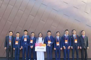 Toàn đội học sinh Việt Nam đoạt giải Olympic Vật lí châu Á 2019