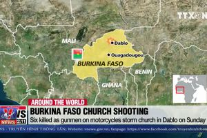 Xả súng đẫm máu vào Nhà thờ Thiên chúa giáo tại Burkina Faso