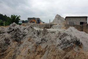 An Lạc, Hải Dương: Nhiều bến bãi kinh doanh vật liệu xây dựng hoạt động không phép