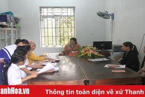 Xã Cẩm Tú chú trọng công tác tư pháp - hộ tịch, hộ khẩu