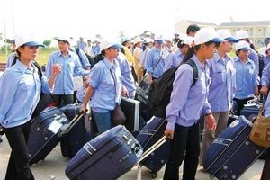 Hơn 41 nghìn lao động Việt Nam đi làm việc ở nước ngoài trong 4 tháng đầu năm
