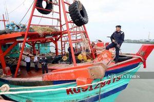 29 ngư dân Việt Nam bị Malaysia bắt giữ