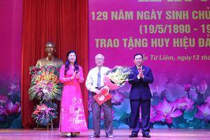 Quận ủy Bắc Từ Liêm, Thanh Xuân trao Huy hiệu Đảng đợt 19-5