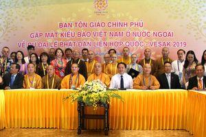 Tăng cường quan tâm đời sống, sinh hoạt tâm linh của phật tử Việt Nam ở nước ngoài