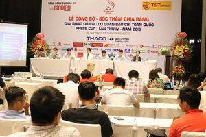 Lễ bốc thăm chia bảng Press Cup 2019 khu vực Hà Nội: Hình ảnh ấn tượng của giải đấu chuyên nghiệp