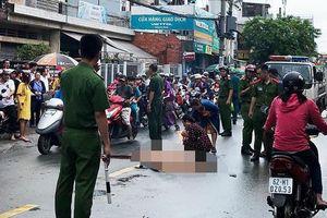 Cô gái 16 tuổi tử vong khi va chạm ôtô tải ở Sài Gòn