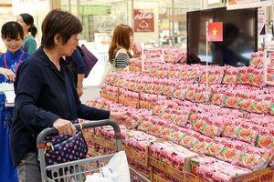 Hợp tác với Tập đoàn AEON (Nhật Bản): Tăng cơ hội xuất khẩu