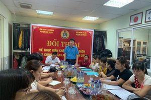 LĐLĐ huyện Lục Ngạn: Đối thoại về chính sách cho công nhân lao động