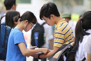 Tuyển sinh lớp 10: Tỉ lệ chọi các trường trước thay đổi nguyện vọng