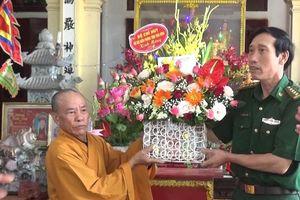 Thăm, chúc mừng chức sắc, tăng ni, phật tử nhân dịp Đại lễ Phật đản