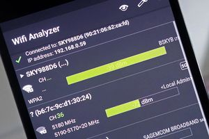 Cách kiểm tra cường độ Wi-Fi bằng smartphone