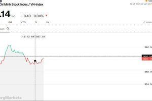 Chứng khoán sáng 14/5: Giảm điểm không đáng kể, VN-Index đang cầm cự tốt hơn mong đợi