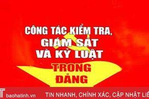 Ủy ban Kiểm tra Tỉnh ủy Hà Tĩnh thông báo kết quả kỳ họp thứ 23 và 24
