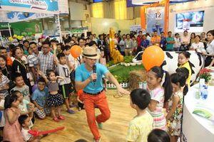 200 gian hàng được trưng bày tại triển lãm quốc tế ngành sữa