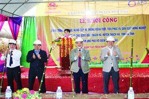 Huyện Thạch Hà: Nỗ lực thay đổi diện mạo nông thôn