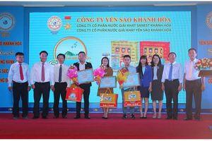 Trao thưởng cuộc thi 'Yến sào Khánh Hòa và Sanest đồng hành cùng sức khỏe cộng đồng'
