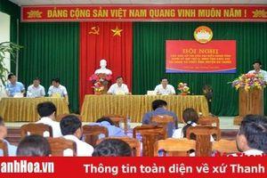 Đại biểu HĐND tỉnh tiếp xúc cử tri huyện Bá Thước