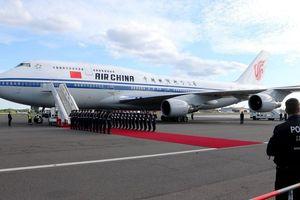 Các nguyên thủ quốc gia sử dụng máy bay gì?