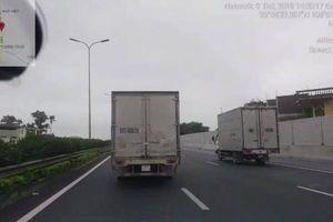 Không nhường đường cho xe cảnh sát, tài xế xe tải bị phạt 2,5 triệu đồng