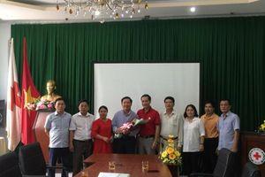 Hội Chữ thập đỏ Việt Nam bổ nhiệm Phó trưởng Cơ quan đại diện phía Nam