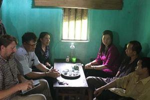 Hội Chữ thập đỏ Việt Nam thăm và làm việc tại huyện Vị Xuyên – Hà Giang