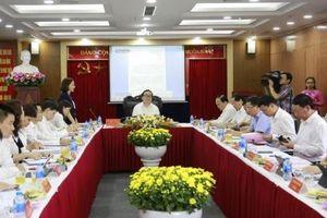 Bí thư Thành ủy Hoàng Trung Hải làm việc với Quỹ đầu tư và phát triển TP Hà Nội