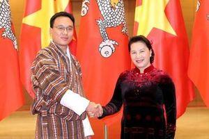 Lãnh đạo Đảng, Nhà nước đón, hội đàm và tiếp Chủ tịch Hội đồng Quốc gia Vương quốc Bhutan