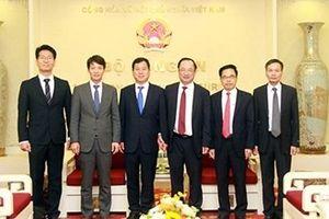 Lãnh đạo Bộ Công an tiếp khách quốc tế